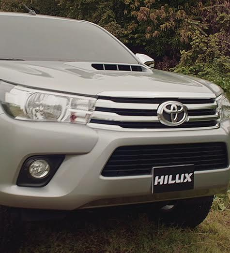 Only Hilux can overcome Hilux